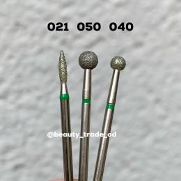 Алмазная насадка (шар зеленый 040)