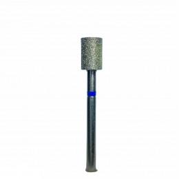 Алмазная насадка (цилиндр прямой синий (040)