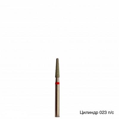 Алмазная насадка (бор конусный куполообразный красный 514.023)