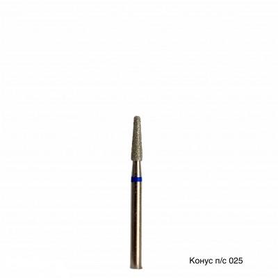 Алмазная насадка (бор конусный куполообразный синий 524.025)