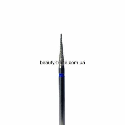 Алмазная насадка (конус заостренный синий 016)