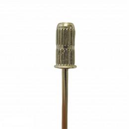Держатель CHIYAN для наждачных барабанчиков ребристый золотой d-6.5 мм