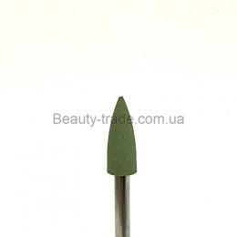 Полировщик силиконовый 4*12 копье зеленое