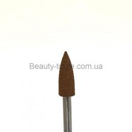 Полировщик силиконовый 4*12 копье коричневый