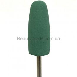 Полировщик силиконовый 10*24 вытянутый зеленый