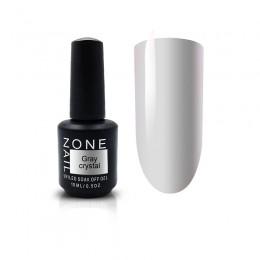 One Nail Коллекция Smoke Gray Crystal (15ml)