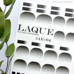 Слайдер-дизайн Laque Stikers Ае-04 (чёрный)