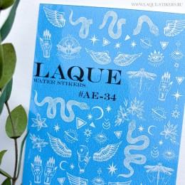 Слайдер-дизайн Laque Stikers Ае-34 (белый)