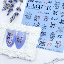 Слайдер-дизайн Laque Stikers Wb-019