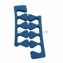 Распорки для пальцев Standart (голубой)