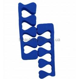 Распорки для пальцев Standart (синий)