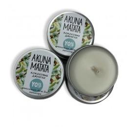 Akuna Matata Массажные свечи 30ml (кокосовые джунгли)