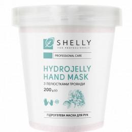 Гідрогелева маска для рук з пелюстками троянди Shelly 200 г