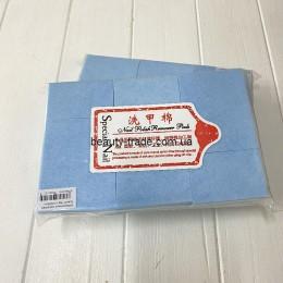 Безворсовые салфетки Special Nail (голубые)
