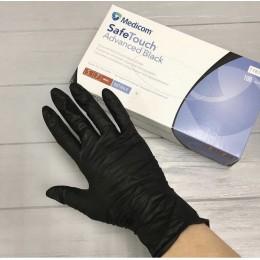 Перчатки Black (100шт размер M) Medicom