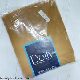 Чехол с резинкой универсальный 0,8*2,1м 80г/м крем Doily